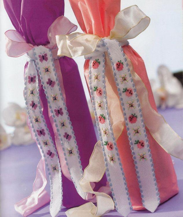 Panglici decorative pentru sticle