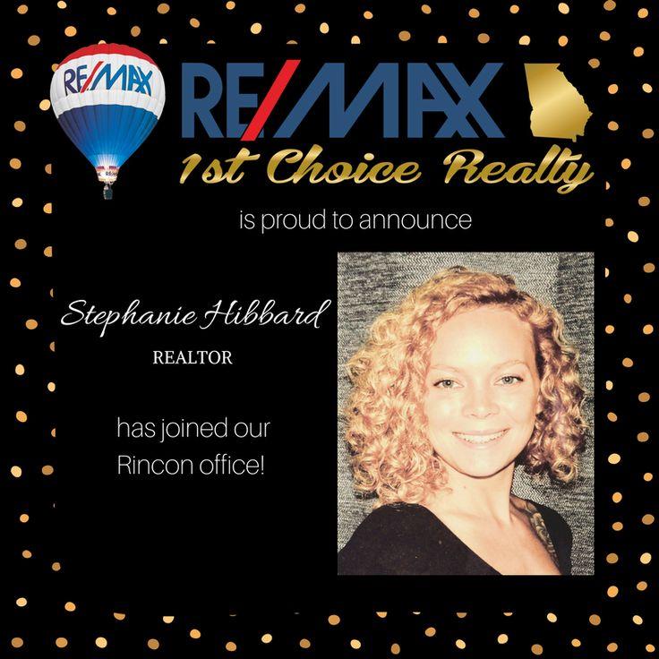Welcome to RE/MAX 1st Choice Realty Stephanie Hibbard! You can reach Stephanie at stephanie@912homes.com or 912-661-3473 #912homes