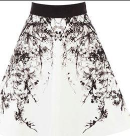 Oriental Print Skirt karren Millen
