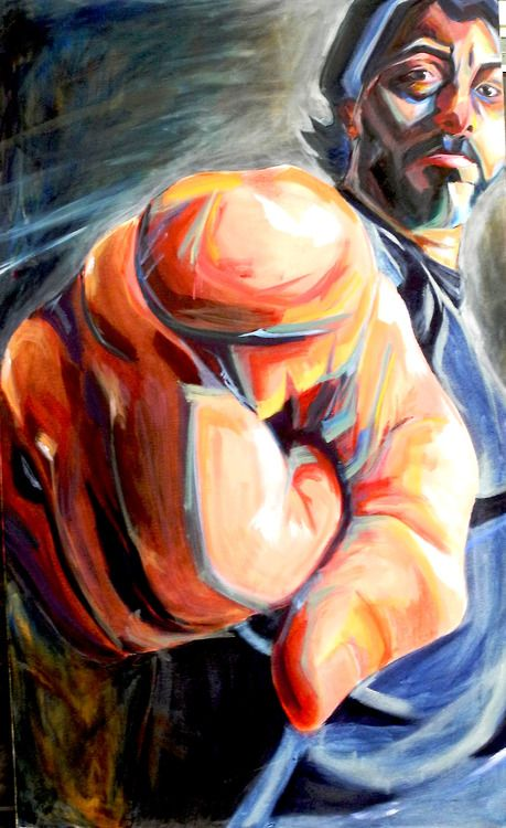 ap painting portfolio - Google Search foreshortening