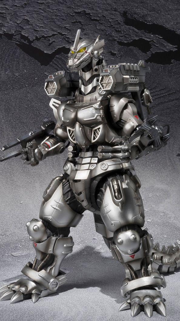 S.H.MonsterArts 3式機龍(重武装型/高機動型)