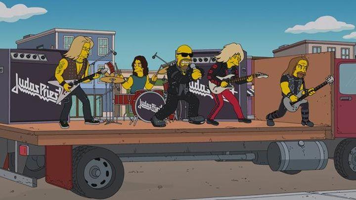 Nell'ultimo episodio del cartone animato i Simpsons chiedono scusa ai Judas Priest e omaggiano il maestro dell'animazione giapponese Miyazak...