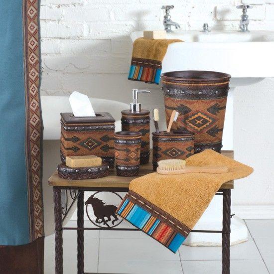 9 best images about bathroom decor on pinterest for Southwest bathroom designs