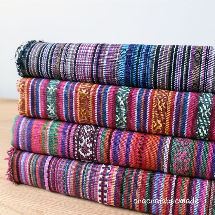 Colorful Stripe Fabric Aztec Fabric Tribal Fabric Ethnic Fabric Native Fabric Boho Bohemian Style Tablecloth Curtain Decor -Half Yard by ChaChaFabricMade on Etsy https://www.etsy.com/dk-en/listing/168805401/colorful-stripe-fabric-aztec-fabric