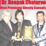 "Diabetes, Thyroid & Hormone Clinic Founder Dr. Deepak Chaturvedi Awarded at prestigious 7th Annual Pharmaceutical Leadership Summit & Pharmaleaders Business Leadership Awards 2014 as ""India's Most Promising Obesity Consultant 2014"""