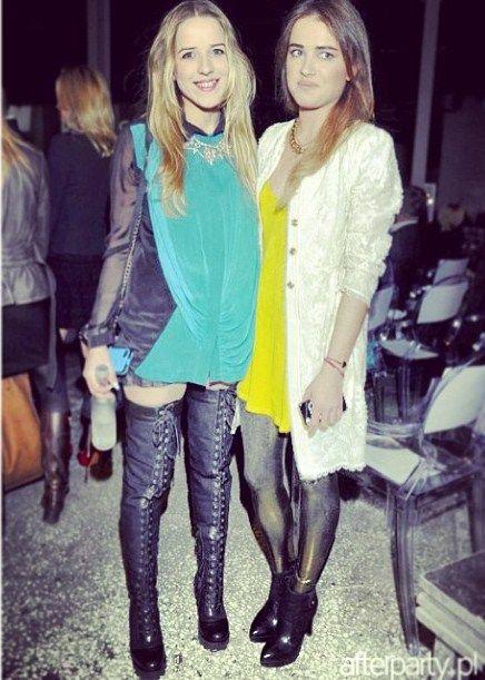 Jessica Mercedes i Julia Kuczyńska (Maff Fashion)