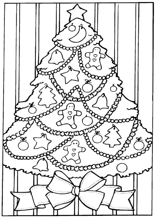 Best 25 Christmas Tree Coloring Page Ideas On Pinterest
