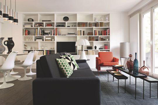 salon contemporain plus de 40 photos pour trouver le v tre vintage carafe et photos. Black Bedroom Furniture Sets. Home Design Ideas