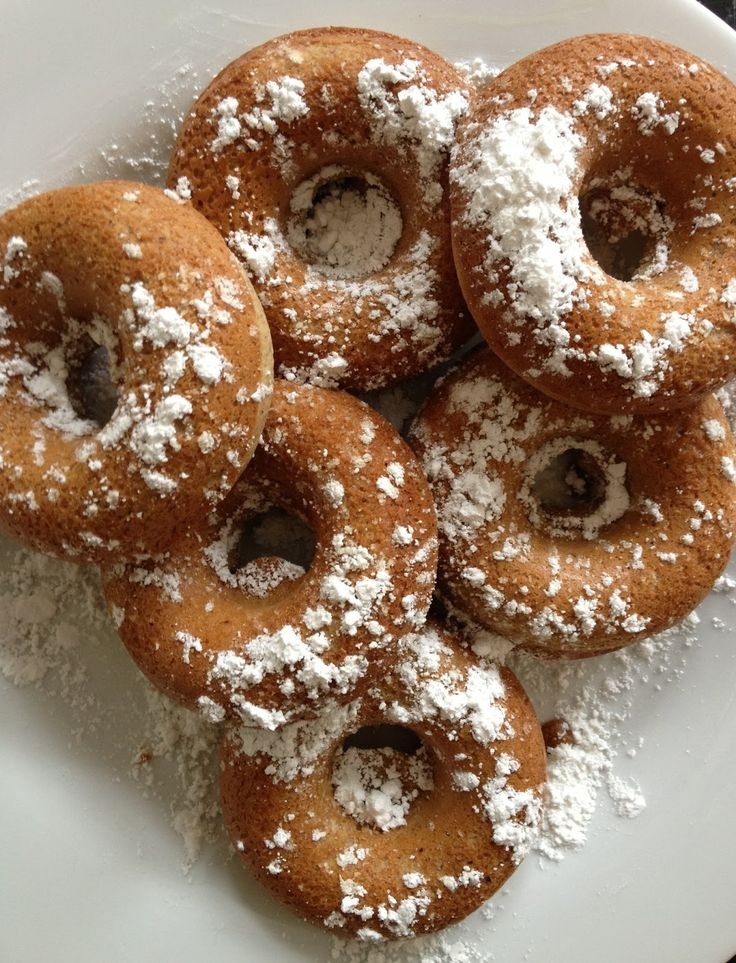 nutmeg doughnuts more baking snack foods desserts doughnuts baked ...