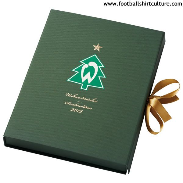 Werder Bremen 2012 Nike Christmas Football Shirt // the box...