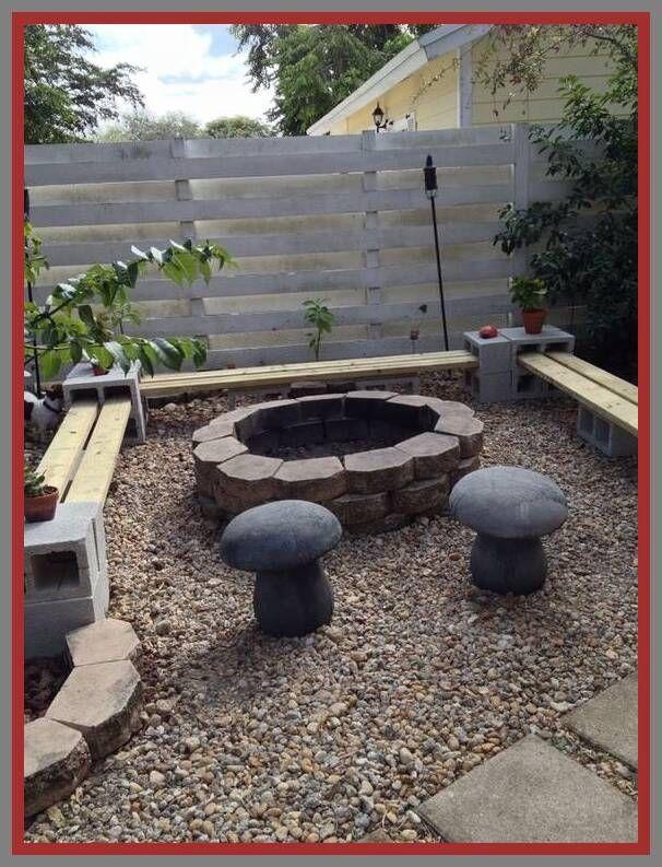 64 Reference Of Bench Cinder Block Curved Modern Design In 2020 Backyard Seating Area Backyard Fire Backyard
