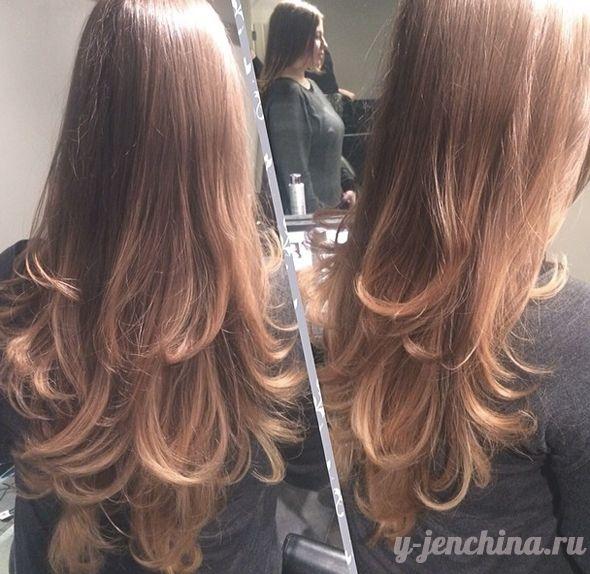 haircut layers hair 2015 волосы стрижка слоями каскад лесенка