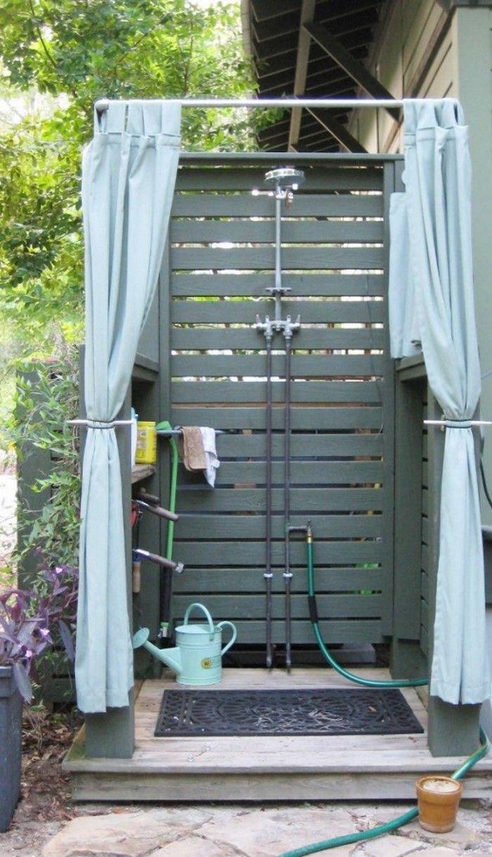 20 Amazing Outdoor Showers.