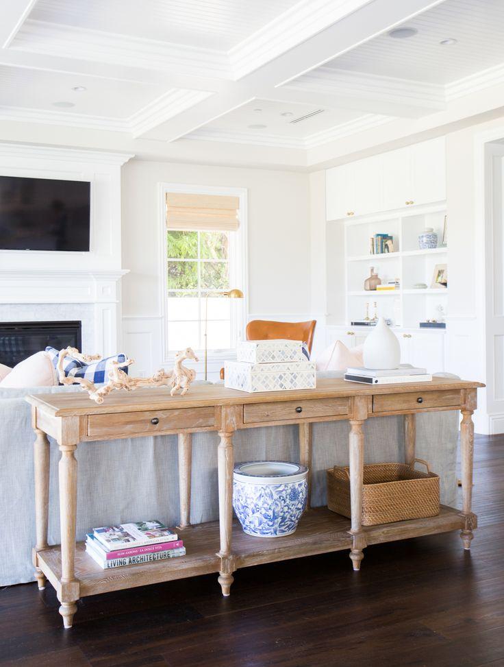 Living room design by Studio McGee