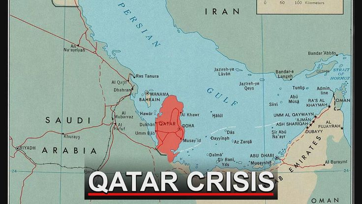 WATCH: Diplomatic tensions are rising between Qatar and other Persian Gulf Arab States