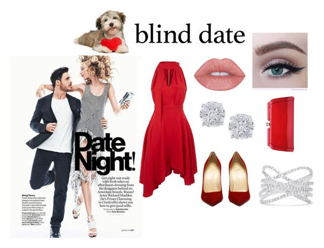 """#blinddate"" by rawal-sadhana on Polyvore featuring La Mania, Effy Jewelry and MKF Collection"