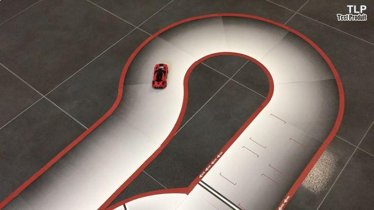 Real FX Le premier circuit de voiture électrique sans rails - Démo - Fiche produit http://www.touslesprix.com/comparer/fiche1583885.html