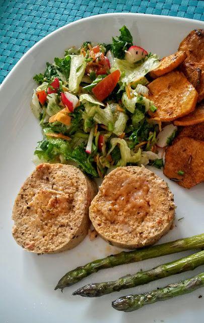 Kuchenne potyczki Alergiczki: Fit-roladka z kurczaka i suszonych pomidorów