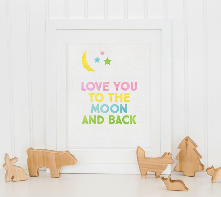 Nursery Print - Nursery Wall Art - Printable Quote - Nursery Art - Girls Wall Decor - Instant Download - Girls Wall Print - Wall Art Print