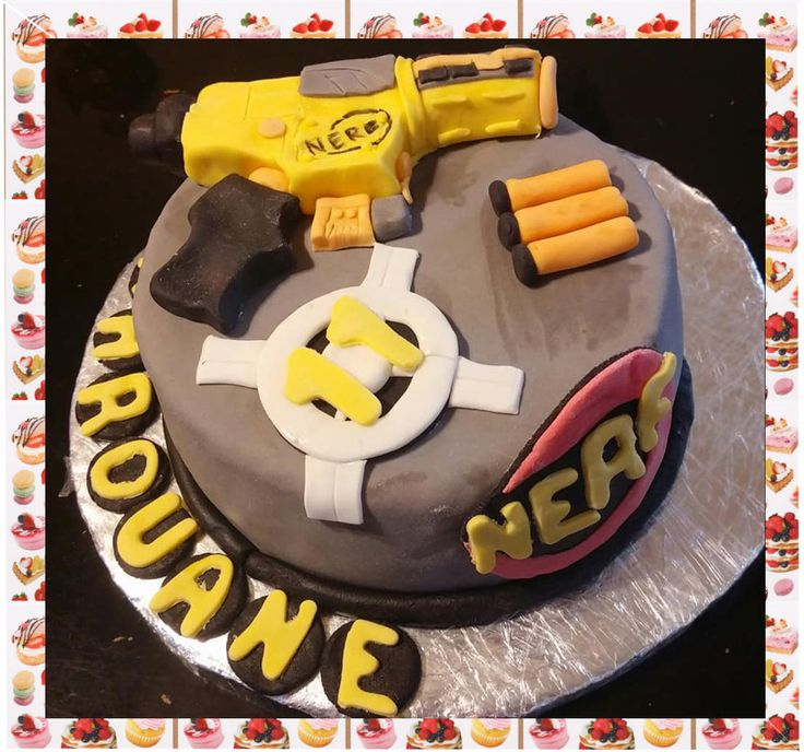 Gâteau nerf :