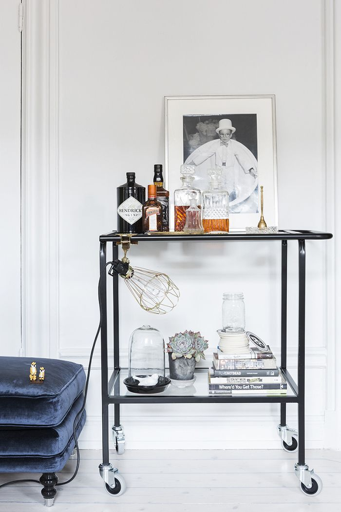 bar cart | photo by therese winberg
