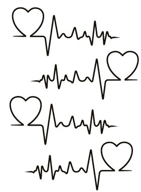 Heartbeat - the rhythm here is wrong but I like this idea