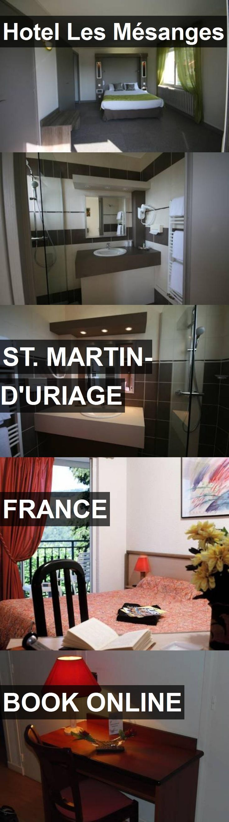 Hotel Hotel Les Mésanges in St. Martin-d'Uriage, France. For more information, photos, reviews and best prices please follow the link. #France #St.Martin-d'Uriage #HotelLesMésanges #hotel #travel #vacation