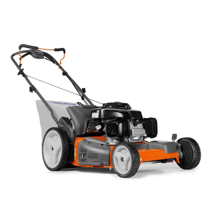 Husqvarna 160-cc 22-in Self-Propelled Front Wheel Drive 3-in-1 Gas Lawn Mower with Mulching Capability with Honda Engine