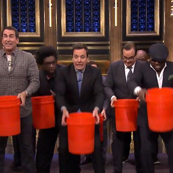 Justin timberlake ice bucket challenges celebrity
