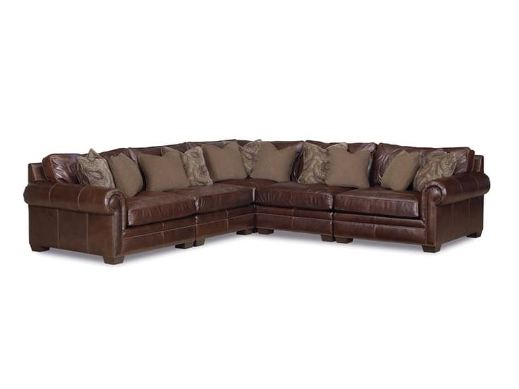 Grandview 5 Piece Leather Sectional GP:L106. Leather SectionalsTraditional  StylesFurniture StoresFine ...