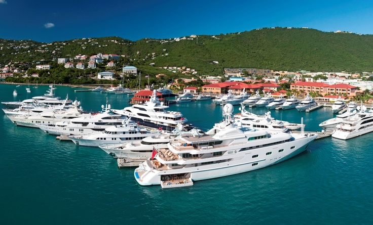 Yacht Haven Grande, St. Thomas, USVI - Could be one of the finest megayacht marinas in the world