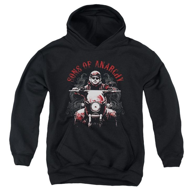 """Checkout our #LicensedGear products FREE SHIPPING + 10% OFF Coupon Code """"Official"""" Sons Of Anarchy / Ride On-youth Pull-over Hoodie - Sons Of Anarchy / Ride On-youth Pull-over Hoodie - Price: $49.99. Buy now at https://officiallylicensedgear.com/sons-of-anarchy-ride-on-youth-pull-over-hoodie"""