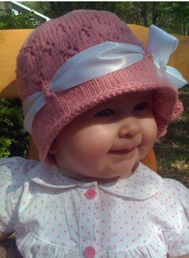 Yet another adorable baby hat.