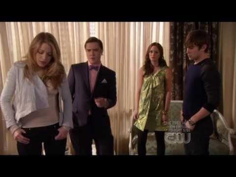 Gossip Girl 2x23 - Chuck Blair Dan Nate and Serena, Georgina is back HQ