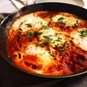 shakshuka, eier, tomate veggie, vegetarisch, jüdisch, fernöstlich, frühstück, foodfreshion, paleo