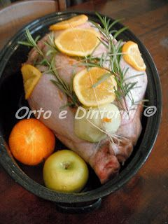 Orto e Dintorni: Tacchino ripieno di castagne, prugne, noci e salsiccia