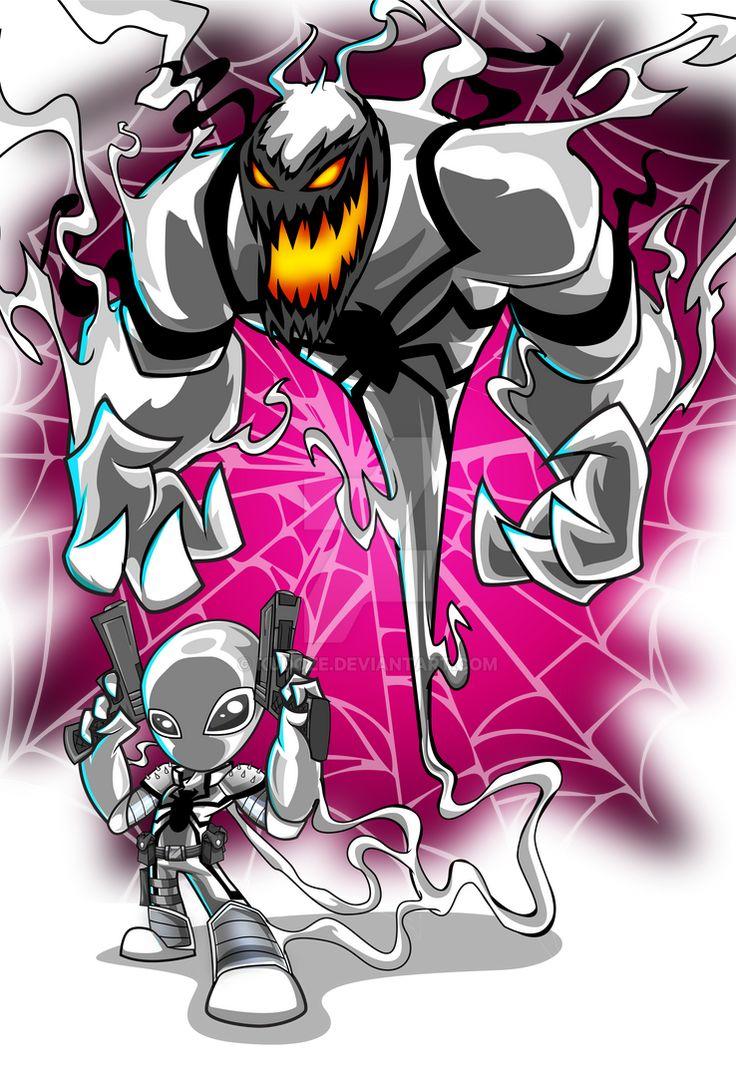 Anti venom by kudoze on deviantart anti venom marvel