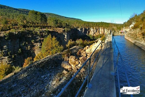 La Ruta Del Canal De Uña Villalba De La Sierra Recorrido Fotos Y Track Rutas Senderismo España Rutas De Senderismo Rutas
