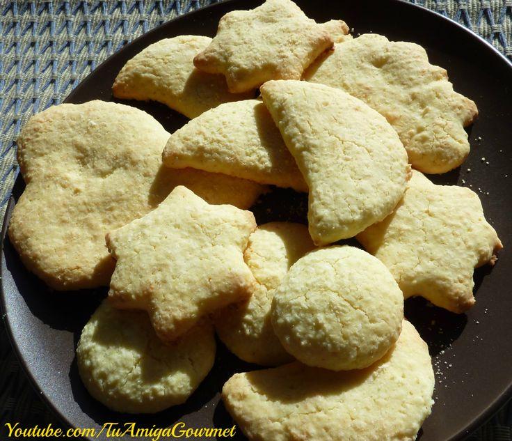 Prepara Galletas de Coco sin gluten ni lácteos:  Estas galletas de coco sin gluten ni lácteos quedan riquísimas y lo mejor de todo es que se pueden moldear de las formas que quieras, su textura es crocante y son muy sabrosas. Ideales para hacerlas en días helados.   Síguenos en nuestras redes sociales  www.facebook.com/TuAmigaGourmet www.twitter.com/TuAmigaGourmet  #SinGluten #SinLacteos