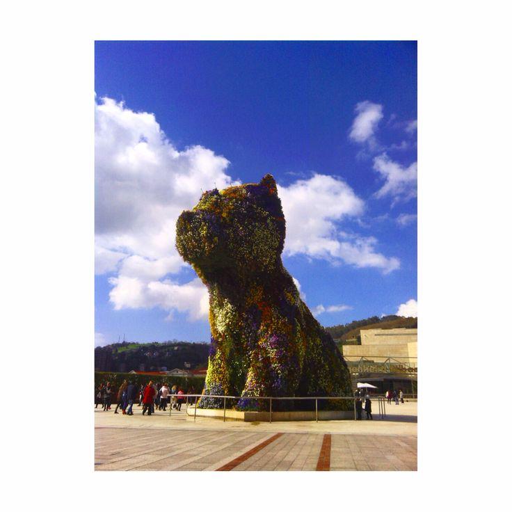 Puppy Guggenheim, Bilbao