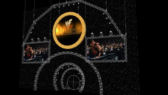 Large preview of 3D Model of WWF Royal Rumble 2002 Stage Model