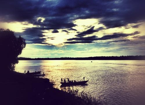 Sekong sunset