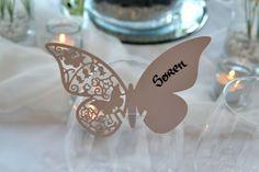 Bordkort til bryllup.