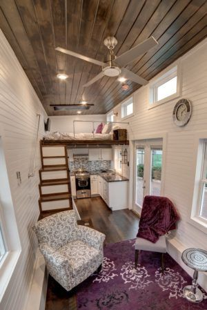Just got an email this morning from the folks over at Molecule Tiny Homes. Remember their surfer's oceanfront tiny house that they built for a client? And their spacious tiny home with a flip…