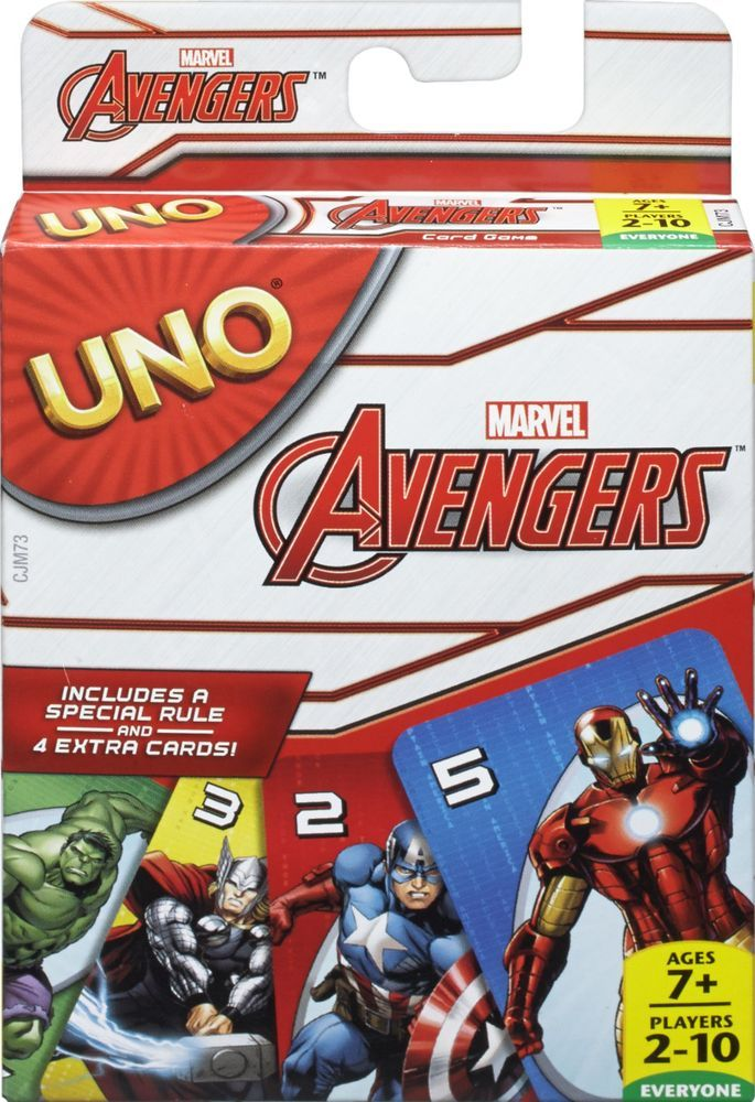 NEW Teen Titans GO UNO Card Game Special Rule 4 Extra Cards Mattel Games