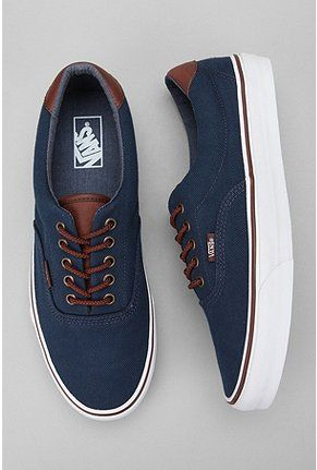 Vans Era 59 Canvas Sneaker $60.00 - School | Raddest Men's Fashion Looks On The Internet: http://www.raddestlooks.org