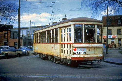 montreal street cars - Google Search