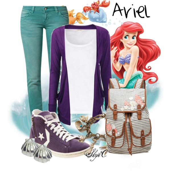 """Ariel - Spring - Disney's The Little Mermaid"" by rubytyra on Polyvore"