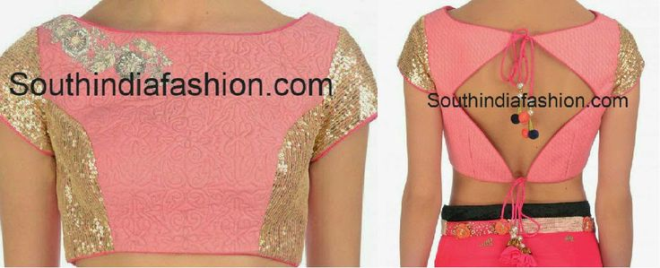 open_back_saree_blouse_with_tieups