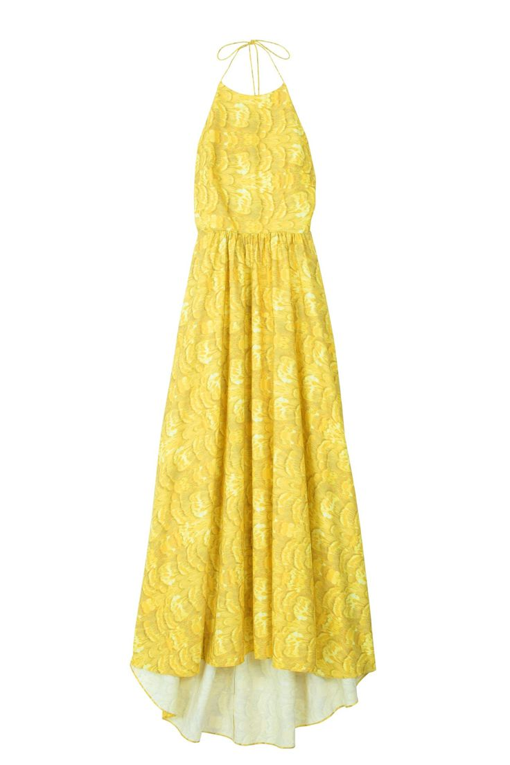 Picnic dressing for Yellow maxi dress for wedding